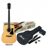 Ibanez VC50NJP Acoustic Concert Guitar Package,